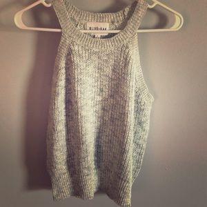 South Moon Under sleeveless sweater